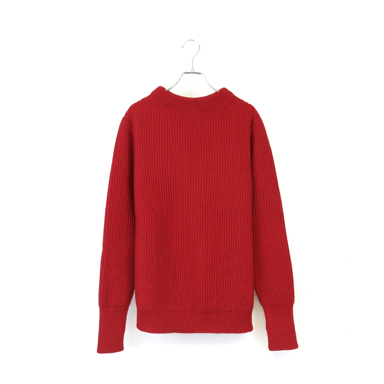 THE NAVY-CREWNECK/RED