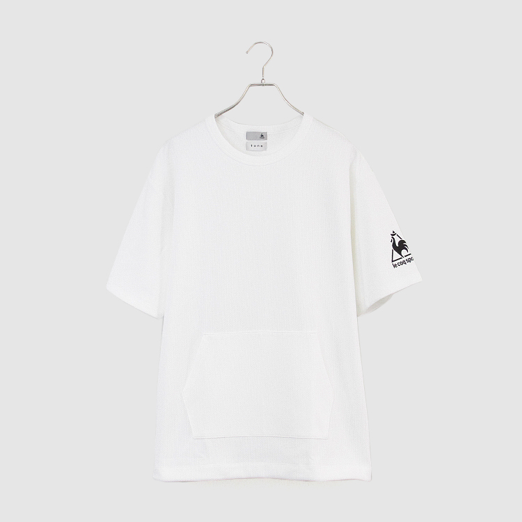le coq sportif OVER T SHIRT/WHITE