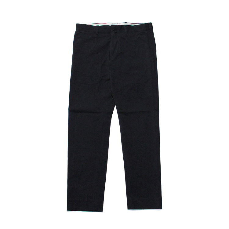 NARROW-CHINO CLOTH PANTS/D.NAVY