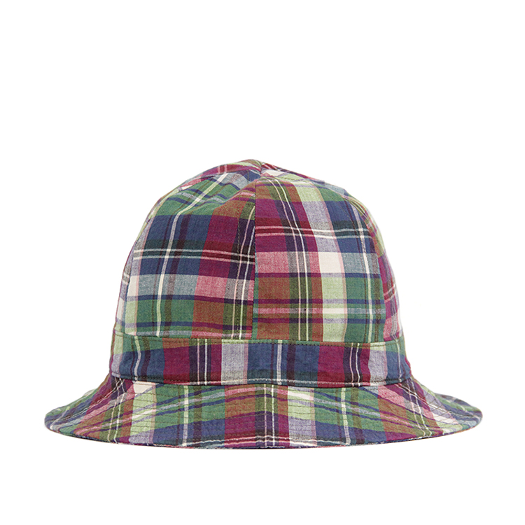 HAT-HIGH/MADRAS RED