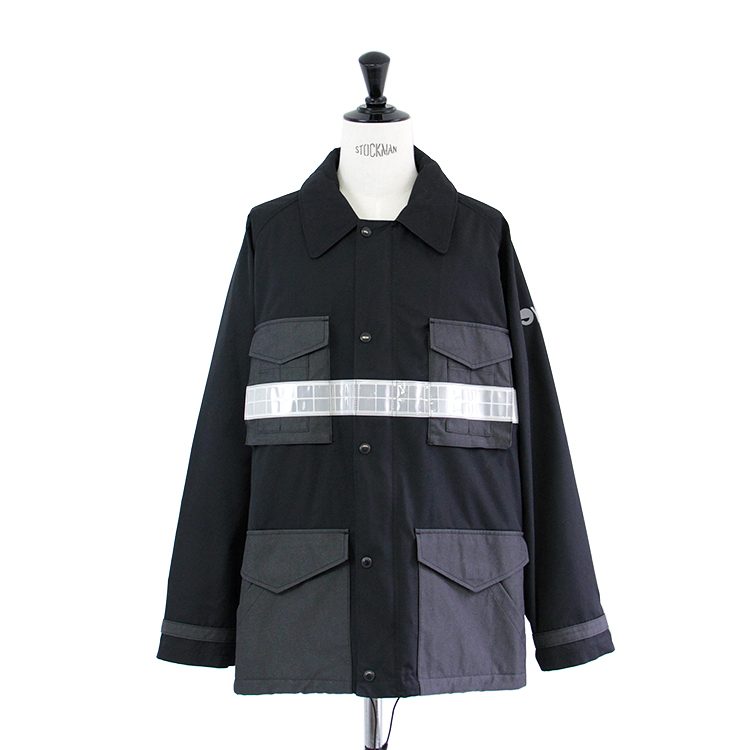 eYe COMME des GARCONS JUNYA WATANABE MAN / ESTER COTTON WEATHER SATIN BLOUSON