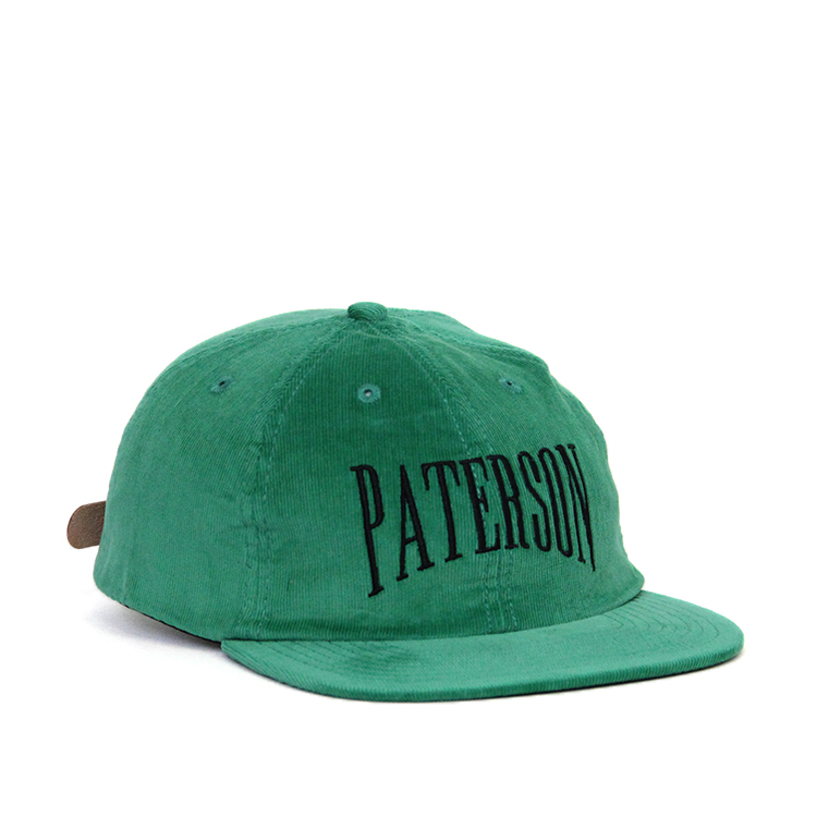 Paterson / EURO GAP CORDUROY HAT/GREEN