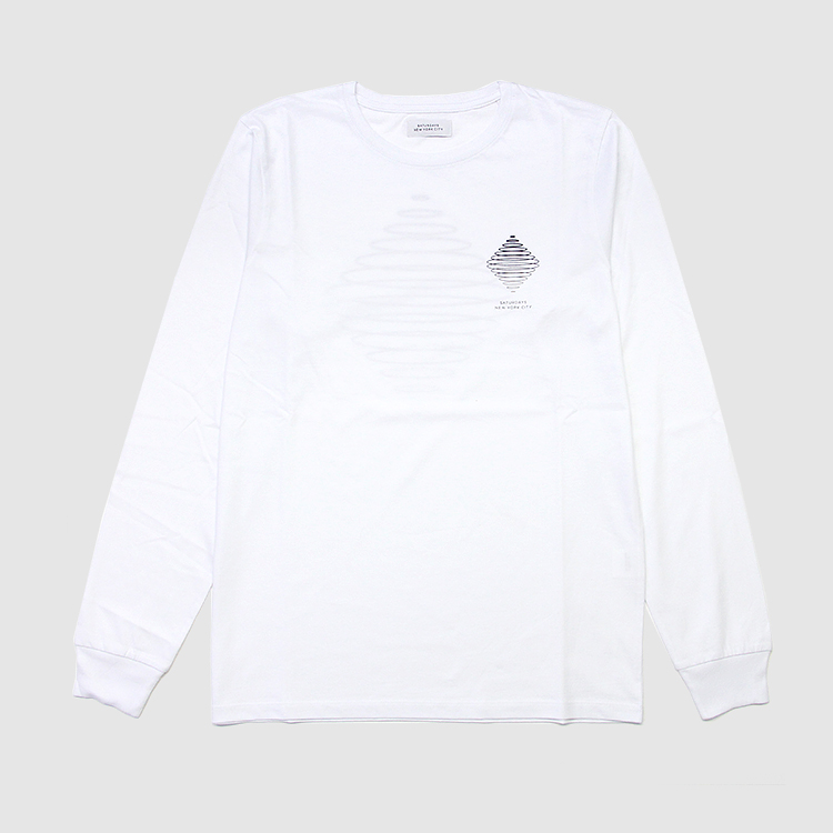 SATURDAYS NYC / Diamond Spiral L/S Tee