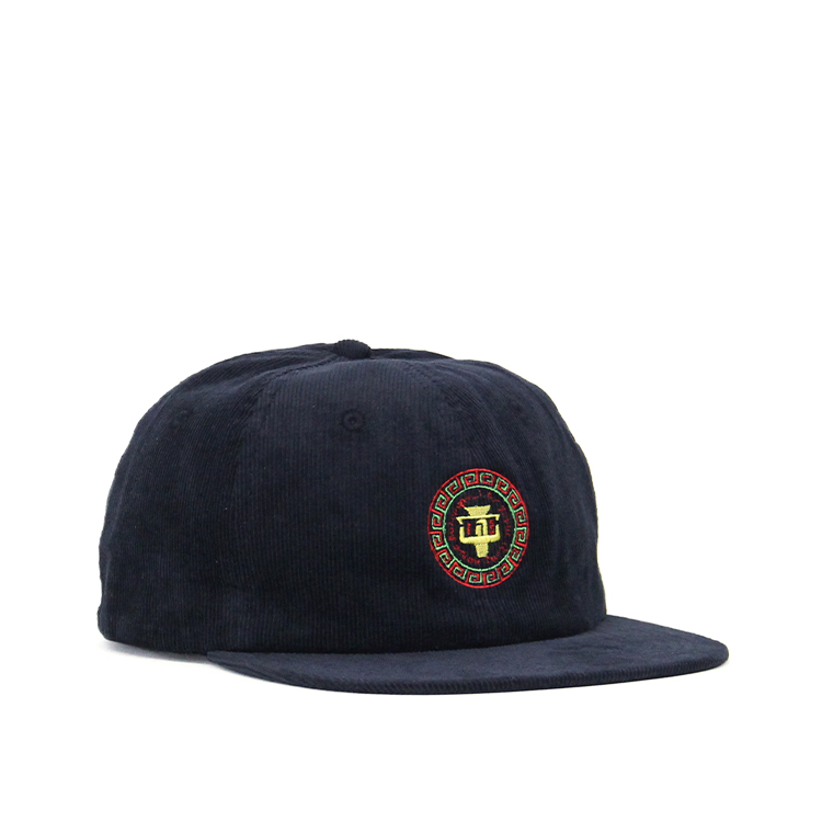 BAL / FLAT VISOR SOFT CORD 6-PANEL/NAVY