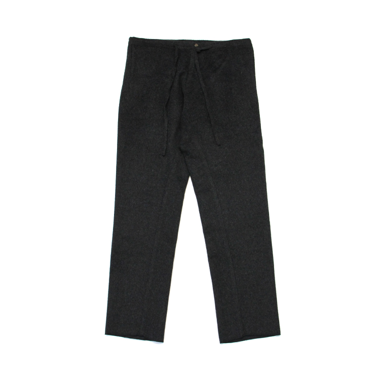 THE INOUE BROTHERS... / Alpaca Trousers/CHACOAL