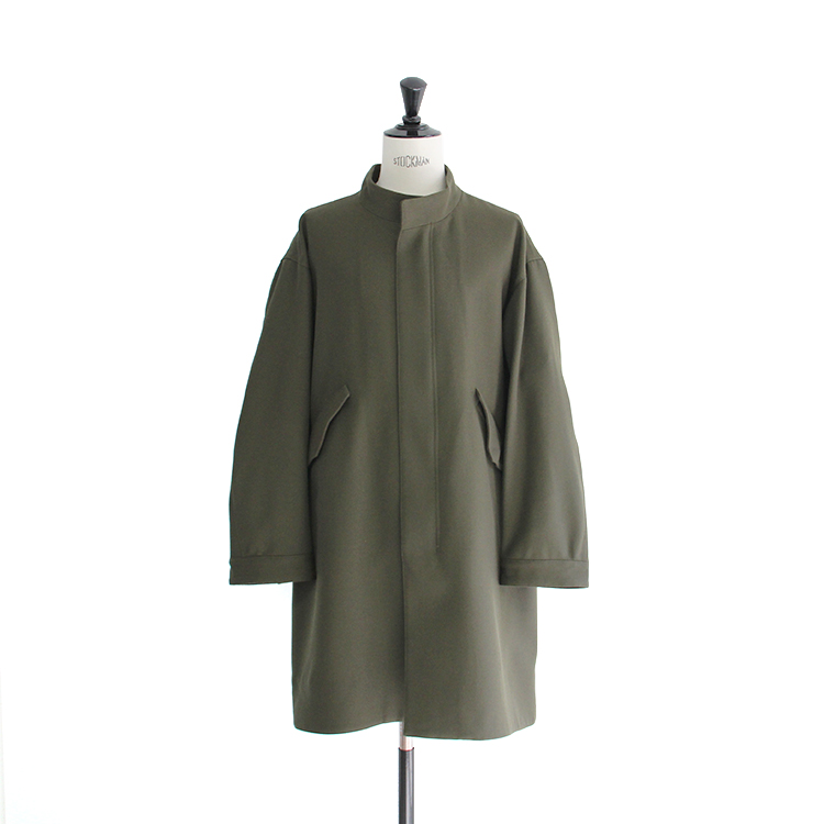 OVERCOAT / SET-IN SLEEVE OVERCOAT/KHAKI