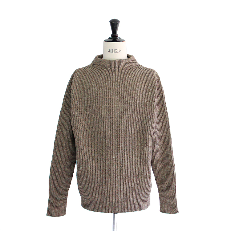 ANDERSEN-ANDERSEN / THE NAVY CREW NECK/TAUPE
