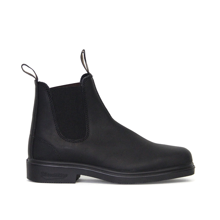 BLUNDSTONE / SIDE GORE BOOT - SQUARE / BLACK