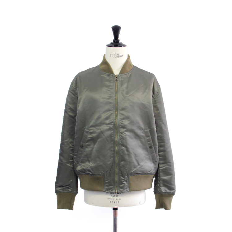 usually just a T-SHIRT / modern flight jacket