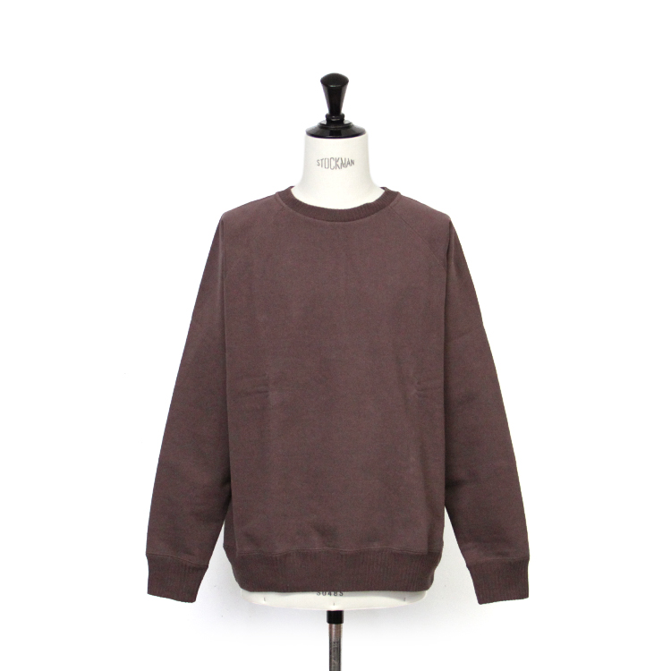 nanamica / Crew Neck Sweat/BROWN