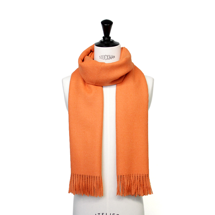 THE INOUE BROTHERS... / Large Woven Stole/ORANGE
