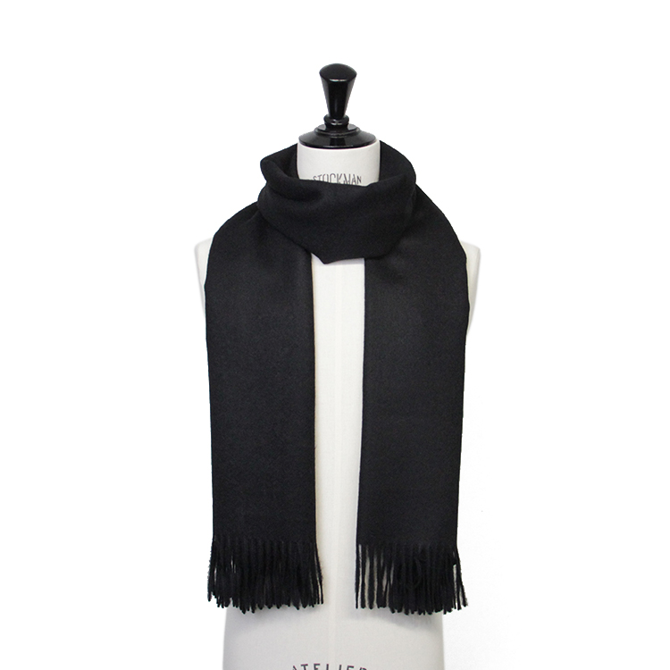 THE INOUE BROTHERS... / Large Woven Stole/BLACK
