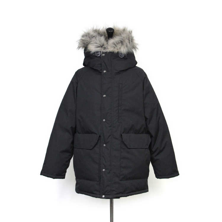 THE NORTH FACE PURPLE LABEL / 65/35 Long Serow/BLACK