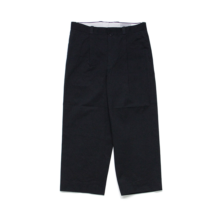 YAECA(MEN) / TAC STRAIGHT - CHINO CLOTH PANTS/NAVY