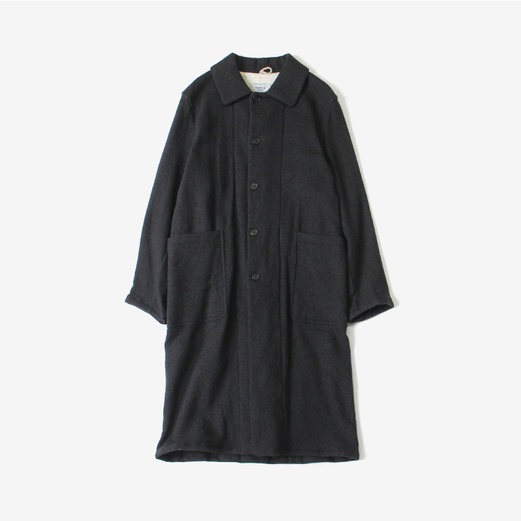 YAECA(MEN) / OVER COAT/CHACOAL