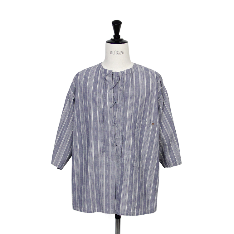 SEVEN BY SEVEN / DOBBY CLOTH PULLOVER SHIRT