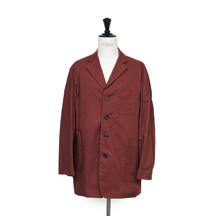 SEVEN BY SEVEN / 4B TAILORED JACKET/RED BROWN