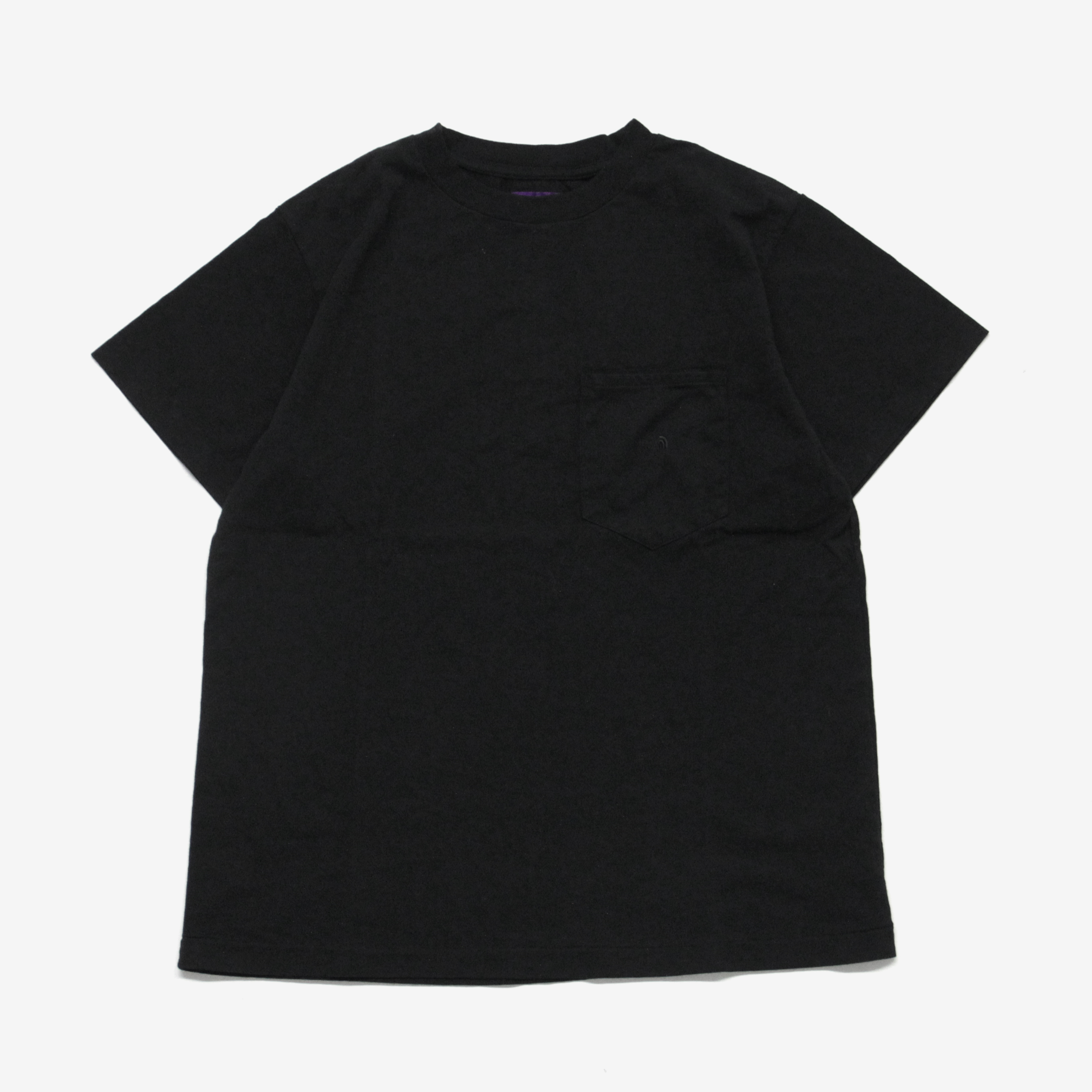 THE NORTH FACE PURPLE LABEL / 7oz H/S Pocket Tee/BLACK