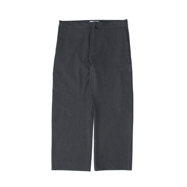 YAECA(MEN) / 2WAY PANTS CROPPED TAPERED/C.GREY