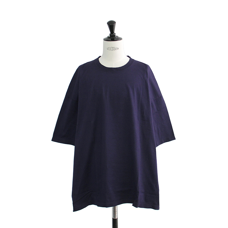SEVEN BY SEVEN / BIG SIZE T-SHIRT/NAVY