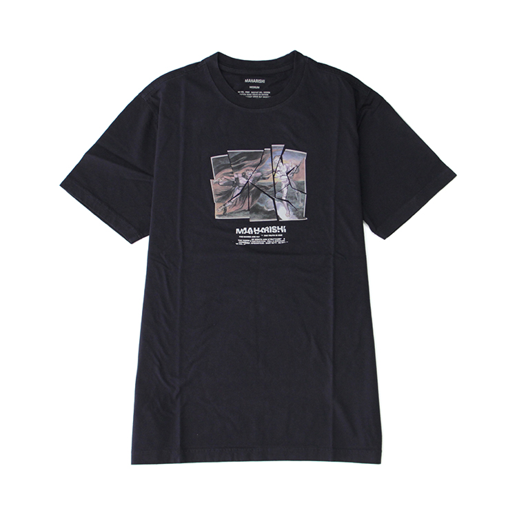 maharishi / Heaven and Hell T-Shirt/NAVY