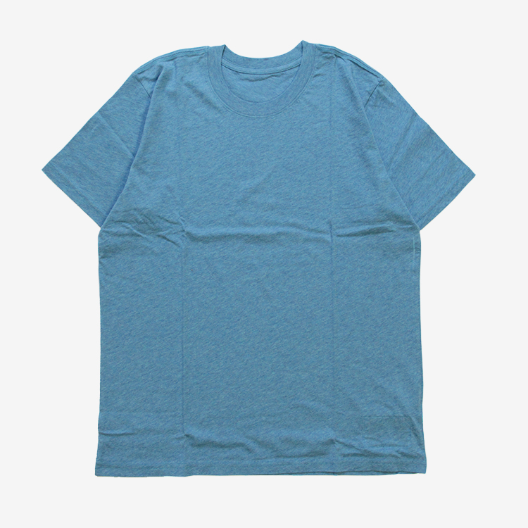 THE INOUE BROTHERS... / Crew Neck T-Shirt / BLUE