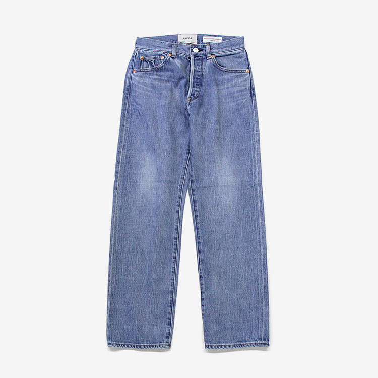 YAECA(WOMEN) / STRAIGHT DENIM/BLUE