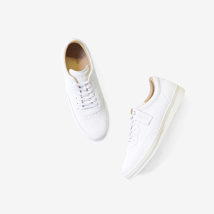 3-3-20 / index sneaker / WHITE