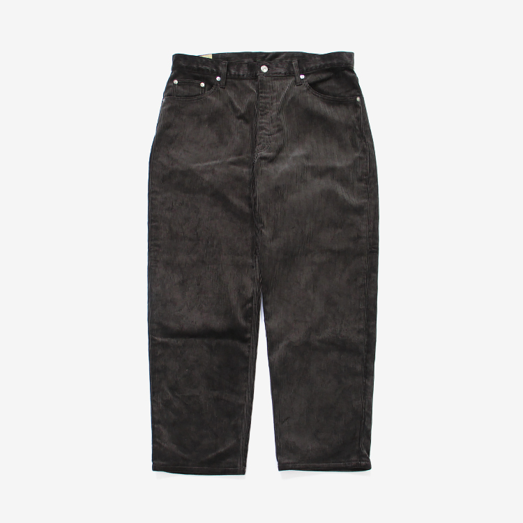 SEVEN BY SEVEN / WIDE PANTS CORDYROY / CHARCOAL