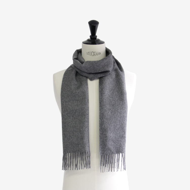 THE INOUE BROTHERS... / Brushed Scarf / GREY