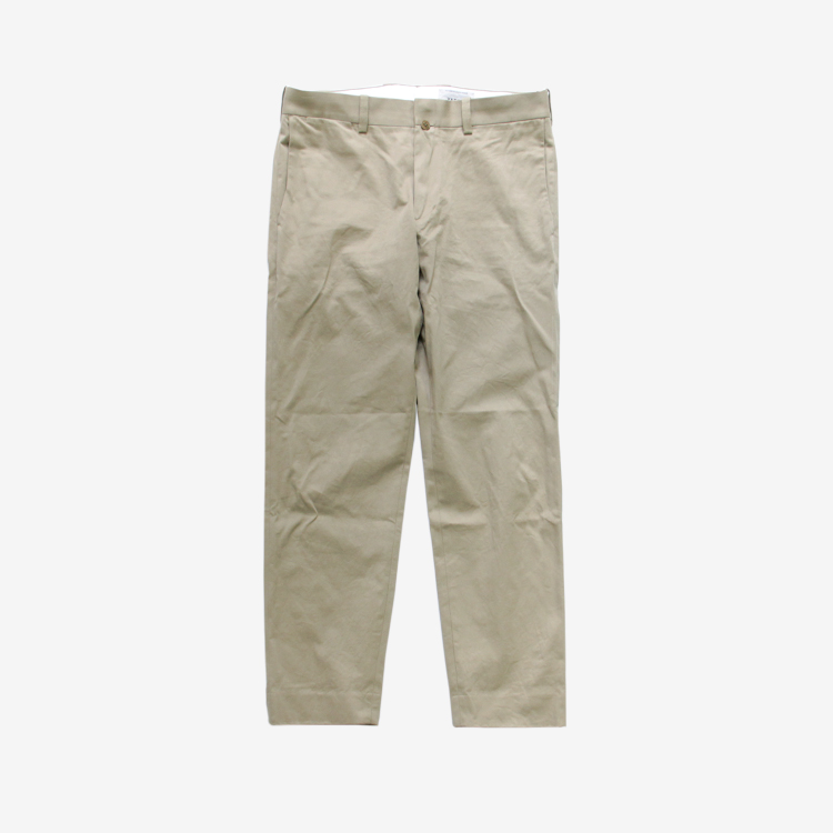 YAECA(MEN) / STANDARD - CHINO CLOTH PANTS(19653) / KHAKI