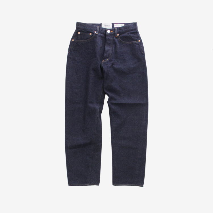 YAECA(WOMEN) / WIDE TAPERED DENIM(9-13WW)