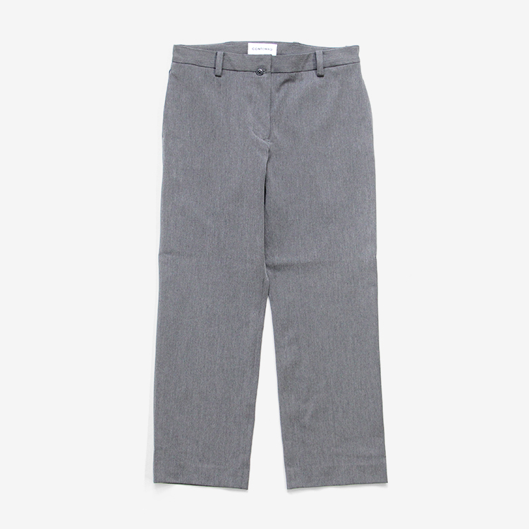 YAECA CONTEMPO(WOMEN) / PIPED STEM - 2WAY PANTS(09659) / M.GRAY