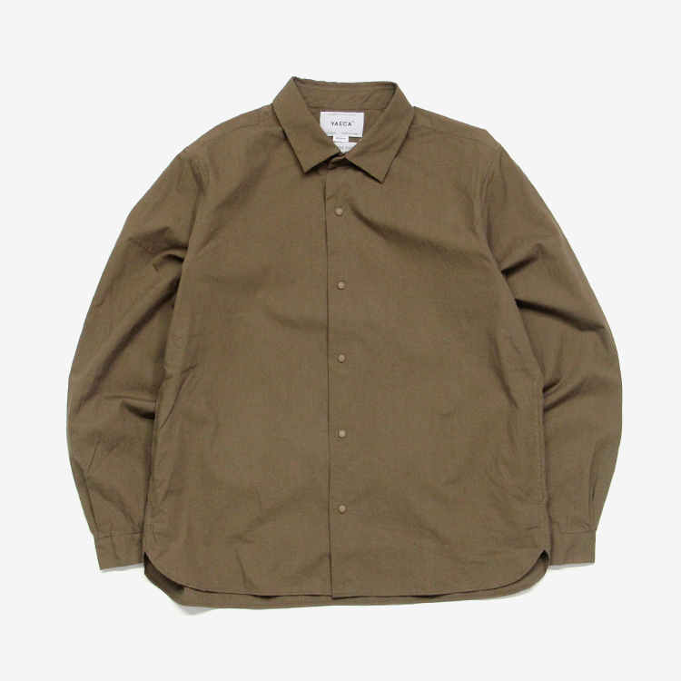 YAECA(MEN) / RELAX SHORT - COMFORT SHIRT(10115) / BROWN