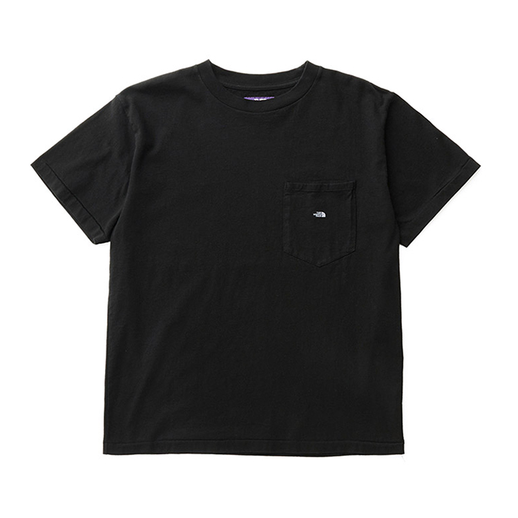 THE NORTH FACE PURPLE LABEL / 7oz H/S Pocket Tee / BLACK