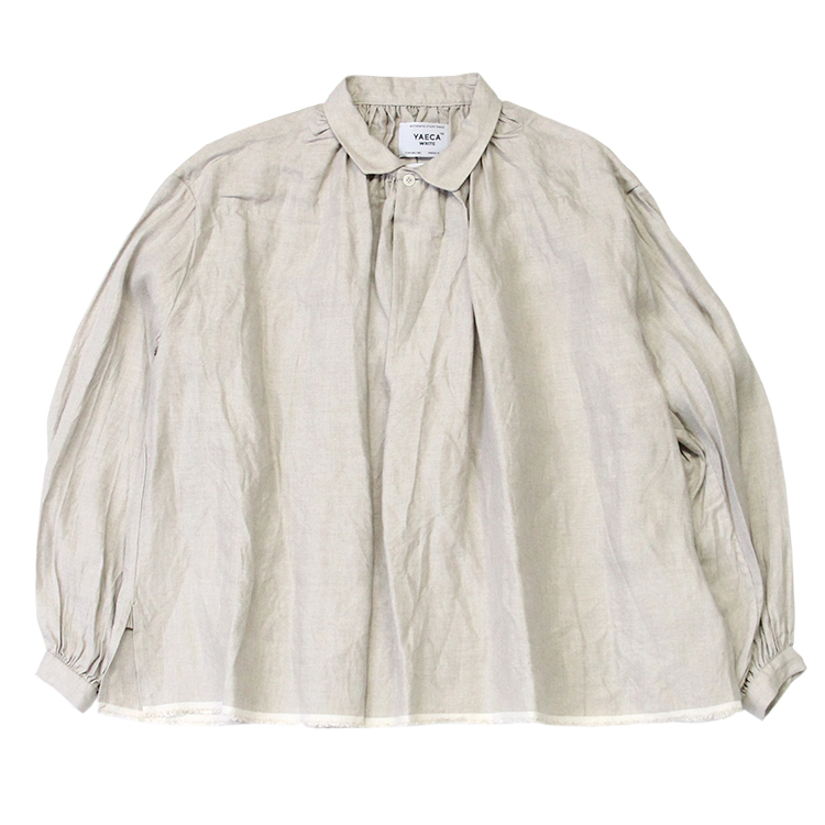 YAECA WRITE(WOMEN) / GATHER BLOUSE / OATMEAL