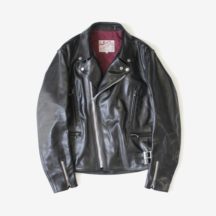 ADDICT CLOTHES / HORSEHIDE DOUBLE RIDERS JACKET(AD-02)