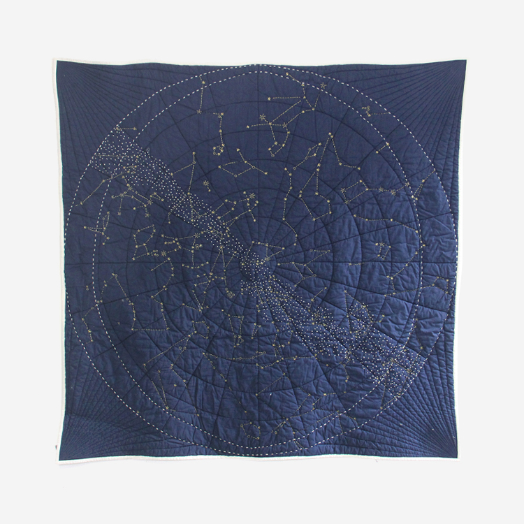 Haptic Lab / Constellation Navy Quilts