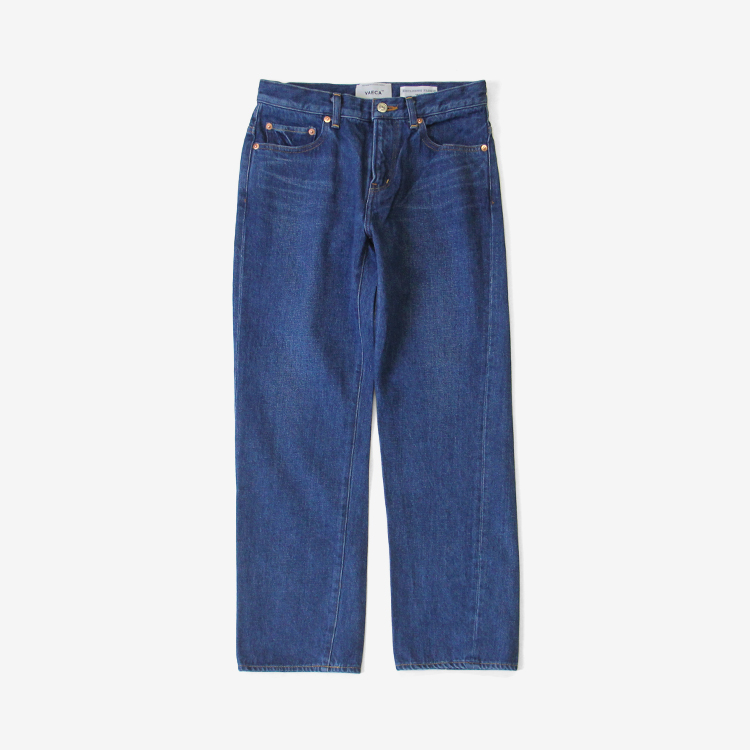 YAECA(WOMEN) / PIPED STEM DENIM(3-13U) / BLUE