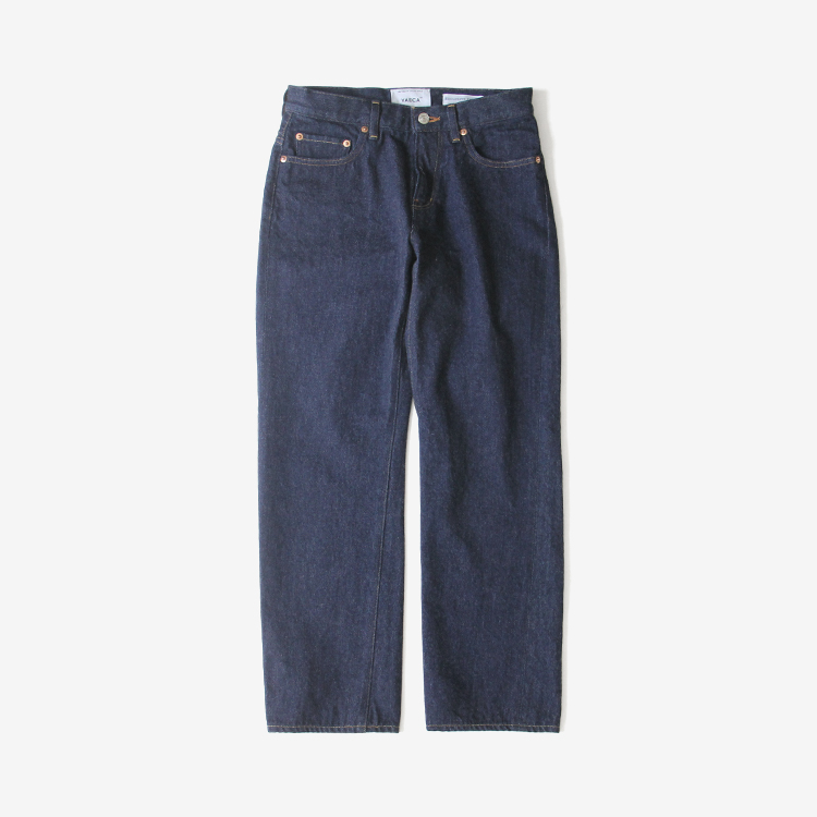 YAECA(WOMEN) / PIPED STEM DENIM(3-13WW)
