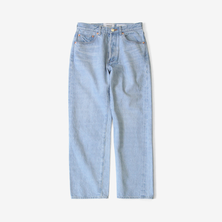 YAECA(WOMEN) / STRAIGHT DENIM(4-13U) / L.BLUE