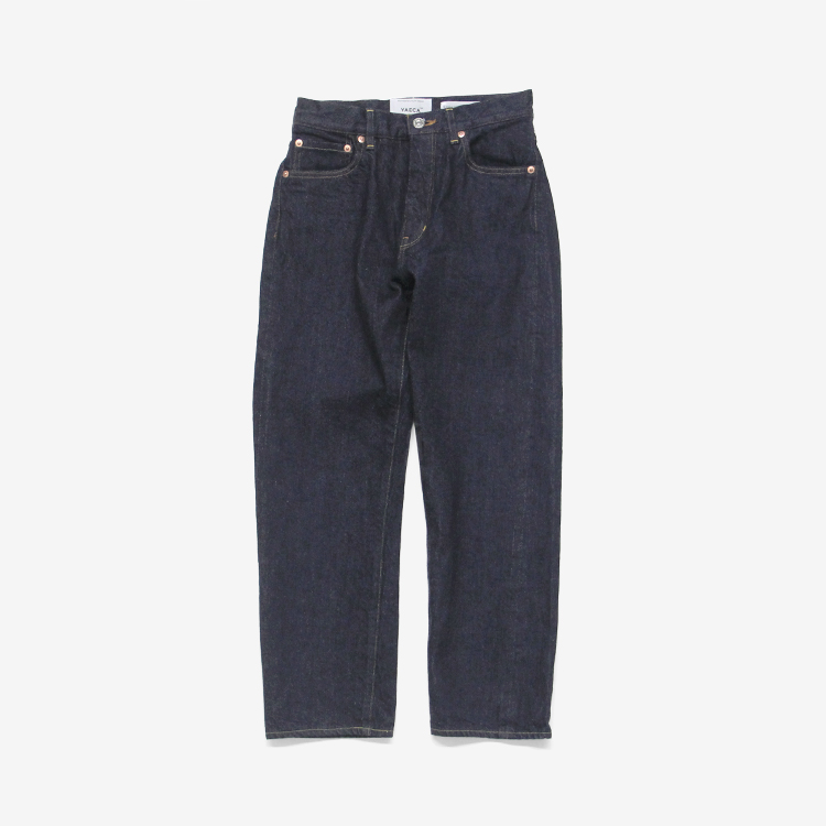 YAECA(WOMEN) / SLIM TAPERED DENIM(6-13W)