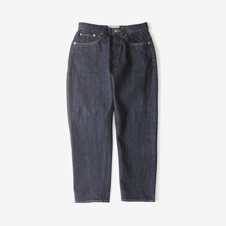 YAECA(WOMEN) / WIDE TAPERED DENIM(9-12W)