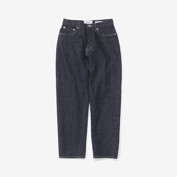 YAECA(WOMEN) / WIDE TAPERED DENIM(9-13W)
