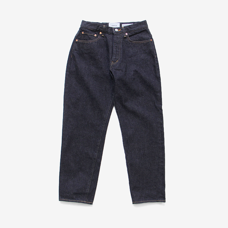 YAECA(WOMEN) / WIDE TAPERED DENIM(9-14W)