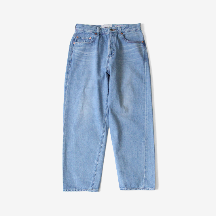 YAECA(WOMEN) / WIDE STRAIGHT DENIM(11-13U) / L.BLUE