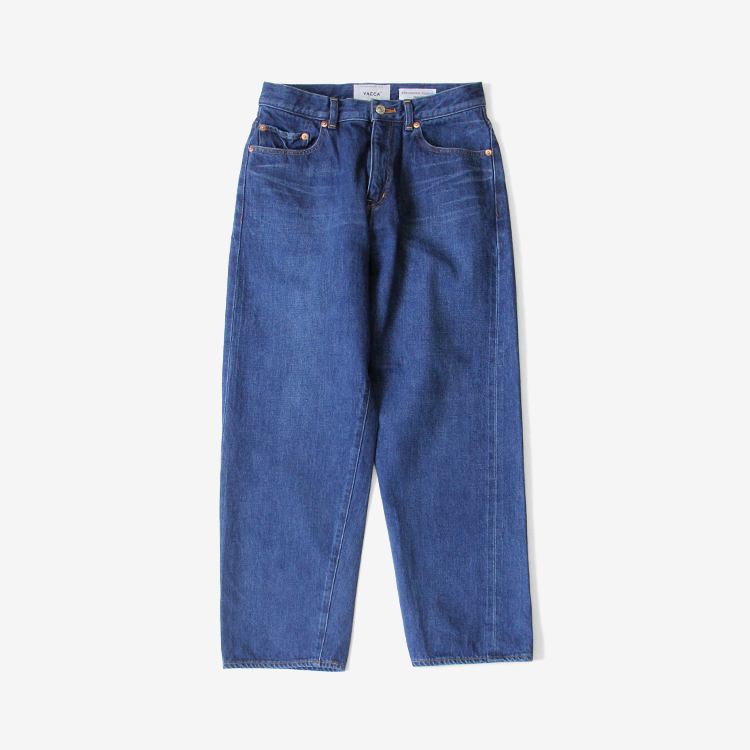 YAECA(WOMEN) / WIDE STRAIGHT DENIM(11-13U) / BLUE