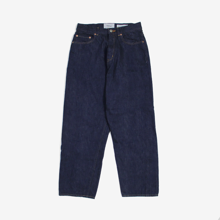 YAECA(WOMEN) / WIDE STRAIGHT DENIM(11-13WW)