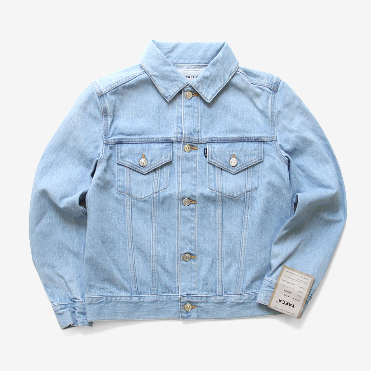 YAECA(WOMEN) / DENIM JACKET(16-13U) / L.BLUE