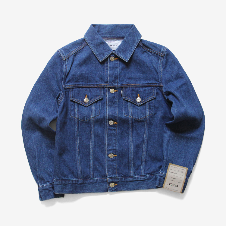 YAECA(WOMEN) / DENIM JACKET(16-13U) / BLUE